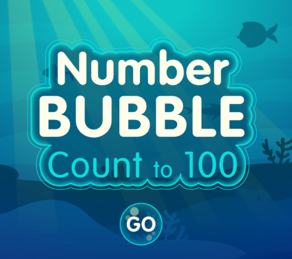 link to number bubble game