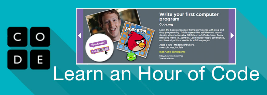 Learn an Hour of Code